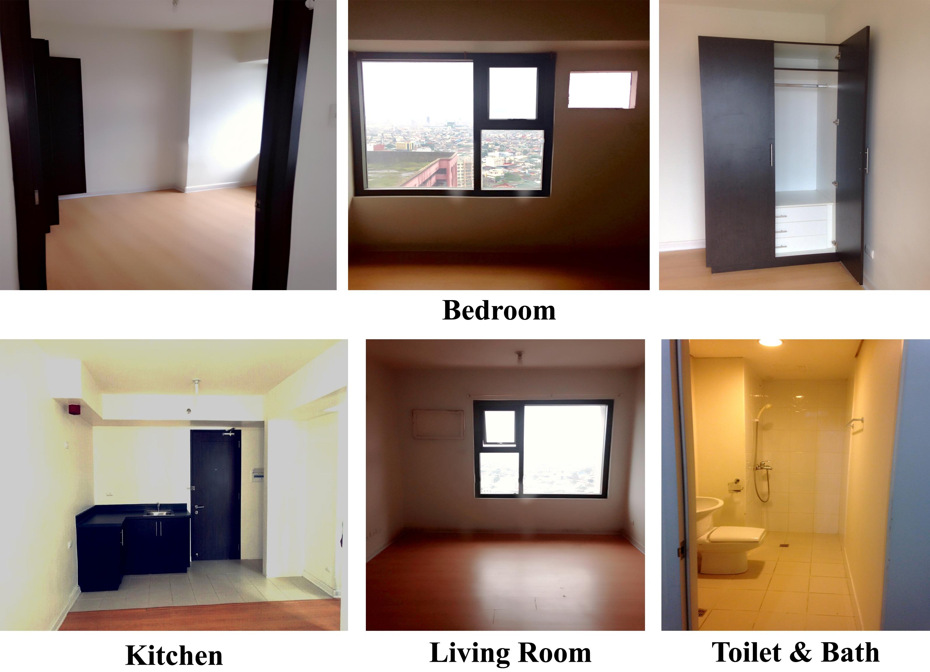 1 bedroom unfurnished